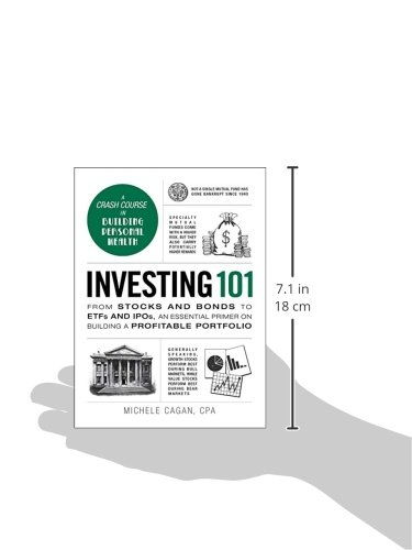 41tDcCQVXJL - Investing 101: From Stocks and Bonds to ETFs and IPOs, an Essential Primer on Building a Profitable Portfolio (Adams 101)