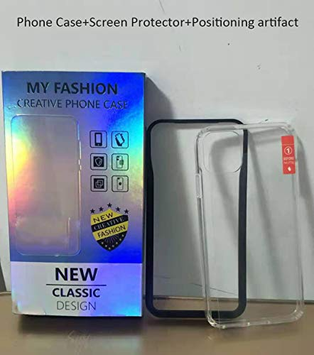HEVER Clear iPhone 11 Pro Case with Screen Protector, Crystal iPhone 11 Pro Hard Case 5.8