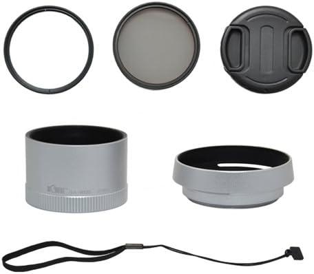 Kiwifotos Lens Accessory Kit 6 Pieces For Leica X1 Camera Photo