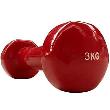 ScSPORTS Mancuernas Mancuernas 3 kg/Rojo, 10000002: Amazon.es: Deportes y aire libre
