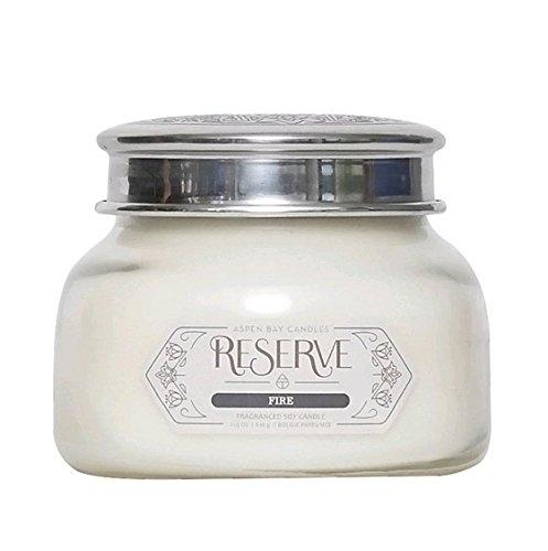 Aspen Bay Candle, Fire Scent, Reserve 19 oz. Jar (Aspen Candle)