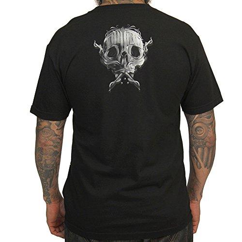 Sullen Men's Written SS T Shirt Black