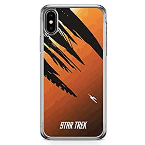 Loud Universe Star Trek in to the world iPhone XS Max Case Movie Poster iPhone XS Max Cover with Transparent Edges