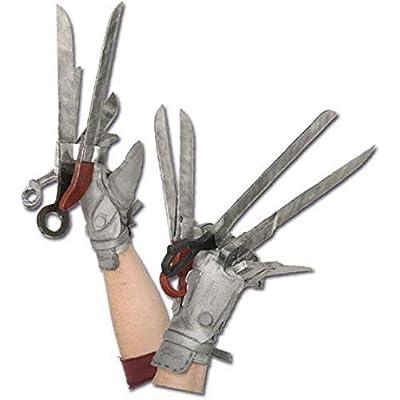 Rubie's Men's Edward Scissorhands Deluxe Glove Set, Multicolor, One Size: Clothing