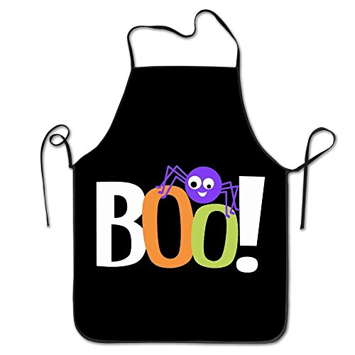 YUANDAN Trick Or Treat Halloween BOO Cool Apron Chef Aprons for $<!--$5.99-->