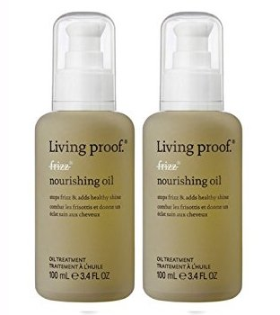 Living Proof No Frizz Nourishing Oil 3.4oz Travel Size 2 Pack