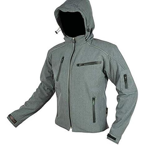 con protectwearions CE RIDER-TEC cazadora Softshell de Moto