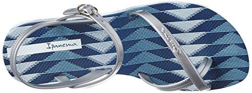 Ipanema Fashion Sand Iv Fem - tira en talón Mujer Bleu (Blue/Silver)