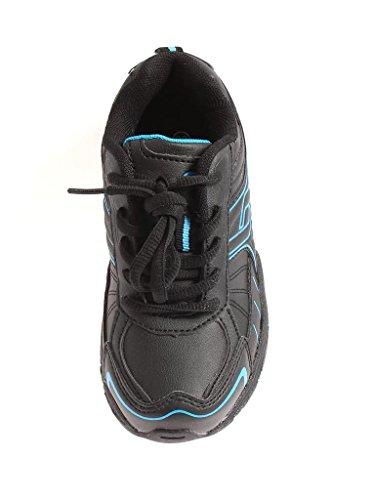 Pro Touch Jungensneaker Sneaker Schuhe Sportschuhe schwarz Bounce PU lace JR Schwarz