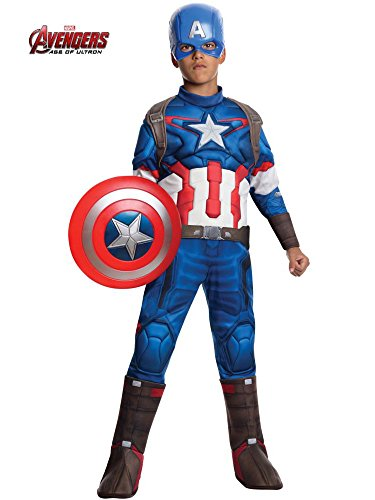 (Rubie's Costume Avengers 2 Age of Ultron Child's Deluxe Captain America Costume,)