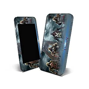 Skin Sticker 3m Cover Phone for HTC Windows Phone 8x Protection Skin Design Assassin's Creed NAUY07