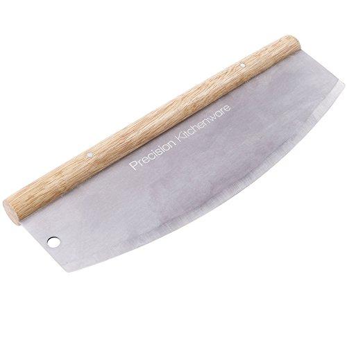 Pizzamesser - Wiegemesser - Pizzaschneider - 35cm - 10 Jahre Garantie! - Precision Kitchenware