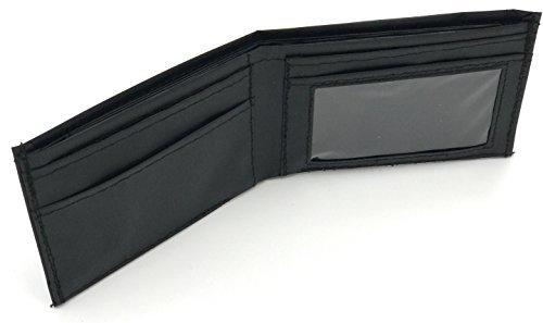 Men's Bifold Envelope System Wallet For Cash Budgeting and Couponing (Black)