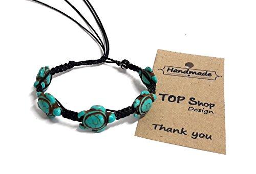 Bracelet-or-Anklet-Sea-Turtle-Turquoise-Bracelet-Turtle-Hemp-Bracelet-Hawaiian-Sea-Turtle-Bracelet