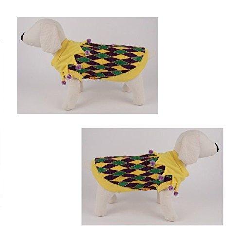[Dog Costume - MARDI GRAS T SHIRT COSTUMES - Tee Shirts for Dogs(Size 5)] (Dog Costumes For Mardi Gras)