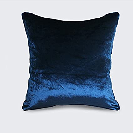 Brandream Navy Blue Striped Throw Pillow Covers for Couch Bed 18 X 18 Inch Decorative Throw Pillow Cases Coastal Bedroom Living Room Decor