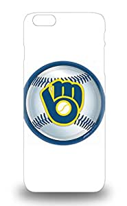 6 Plus Snap On 3D PC Soft Case Cover Skin For Iphone 6 Plus MLB Milwaukee Brewers Logo ( Custom Picture iPhone 6, iPhone 6 PLUS, iPhone 5, iPhone 5S, iPhone 5C, iPhone 4, iPhone 4S,Galaxy S6,Galaxy S5,Galaxy S4,Galaxy S3,Note 3,iPad Mini-Mini 2,iPad Air )