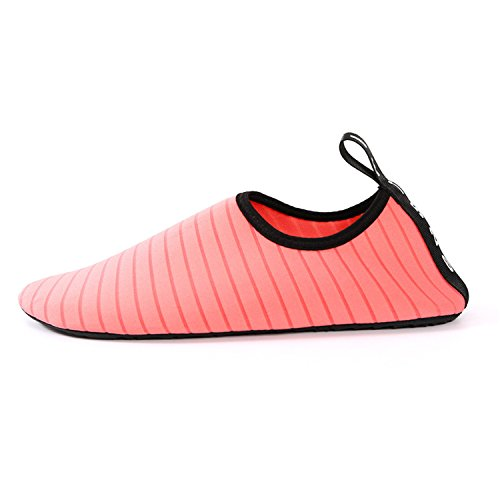 Swimming Shoes Diving Shoes Beach Children Fitness Home Treadmill Slippers Pink Soft Slip Non Wading Shoes Shoes AiWoo Snorkeling xnSqAwCx
