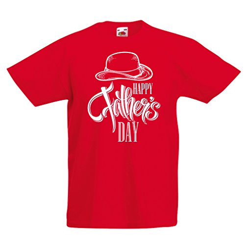 T shirts for kids for dad gifts - Happy Fathers day - best father gift, Daddy tee (9-11 years Red Multi (Baby Jack Jack From The Incredibles)