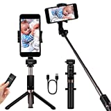 Selfie Stick Selfie Stick Waterproof Tripod Selfie Stick Bluetooth Selfie Stick Tripod Selfie Stick Monopods for iPhone Xs MAX iPhone 8 iPhone 8 Plus iPhone 7 Plus Galaxy Note S9 Plus Mono-pods