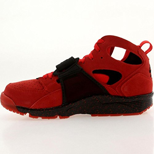 Nike Mens Air Huarache PRM QS Love Hate Red Black Basketball Trainer