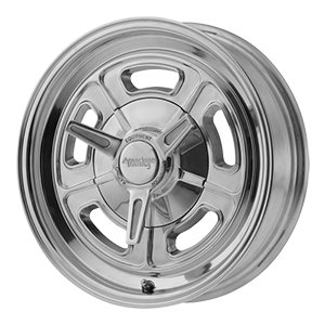 AMERICAN RACING VN502 Wheel with GRAY and Chromium (hexavalent compounds) (15 x 10. inches /5 x 76 mm, -32 mm Offset) ()