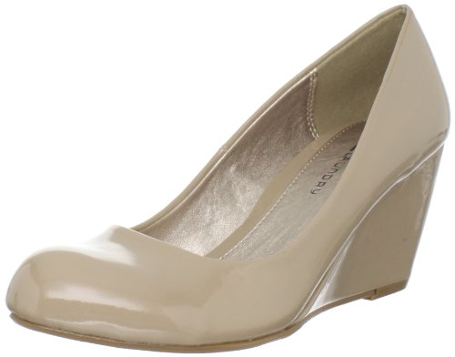 Cl by Chinese Laundry Women's Nima Wedge Pump, Nude Patent, 7.5 M US