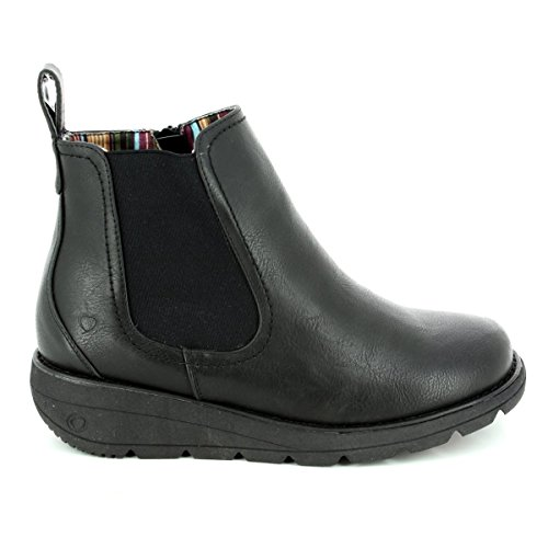 Heavenly Feet Ankle Ankle Feet Heavenly Rolo Black Rolo Boots tPTwxvtnqU