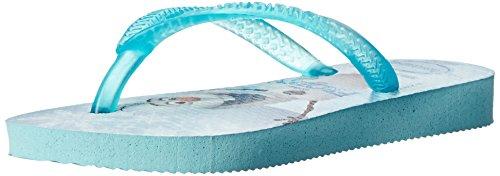 Havaianas Kids Slim Frozen Thong Sandal (Toddler/Little Kid), Ice Blue, 23 BR(9 M US Toddler)