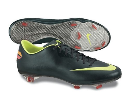 huge discount 1f5ec 88c2c Nike Bota Mercurial Vapor VIII FG Negra-Verde Talla 13 USA Amazon.es  Zapatos y complementos