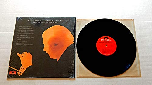 ARTHUR FIEDLER AND THE BOSTON POPS PLAY THE MUSIC OF PAUL SIMON - Polydor Records 1972 - USED Vinyl LP Record - 1972 Pressing SHRINK WRAP- Bridge Over Troubled Water - Cecilia - Mrs. Robinson