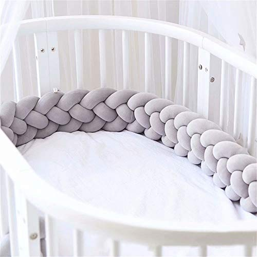 (Abaya Ins Woven Strips Knotted Ball Four Twist Pillow Kont Ball Children Anti-Collision Bed-Style18)