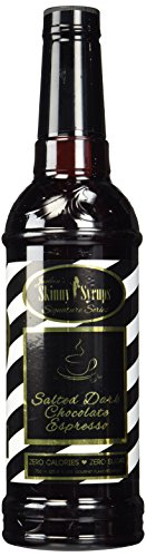 Salted Dark Chocolate Espresso- Jordan's Skinny Syrups- Sugar Free by Skinny Mixes
