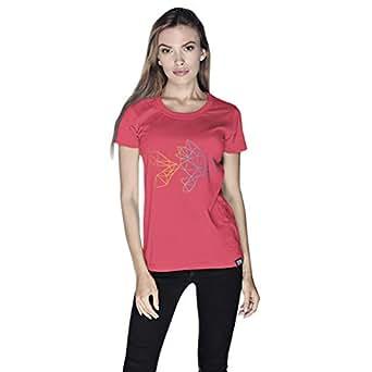 Creo Fish Animal T-Shirt For Women - S, Pink