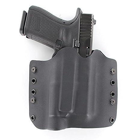 R&R Holsters: OWB Kydex Light Bearing Holster for Streamlight TLR-4-50+ Gun  Models Available - Black