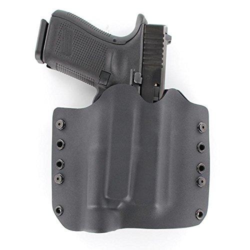 OWB TLR-1 Holster - Black (Right-Hand, Glock 20,21,37)