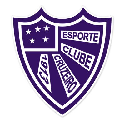 fan products of EC Cruzeiro - RS - Brazil - Brasil Football Soccer Futbol - Car Sticker - 4