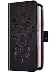 Uposao - Funda para Samsung Galaxy J5 2016, diseño de búho con sensor de sueño, piel sintética, con tapa, negro