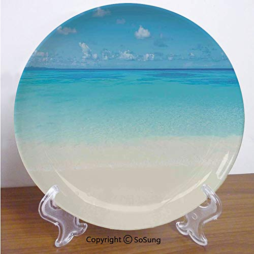 Paradise Stoneware Plates - Ocean 8