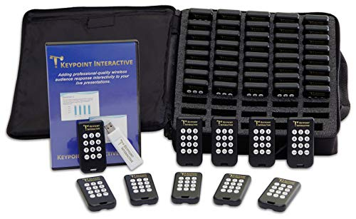 Keypoint Interactive Audience Response System with 50 Keypads