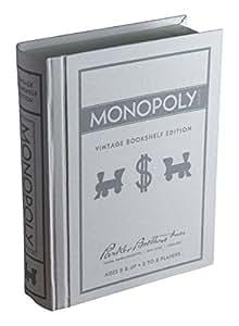 Monopoly Linen Book Vintage Edition Board Game