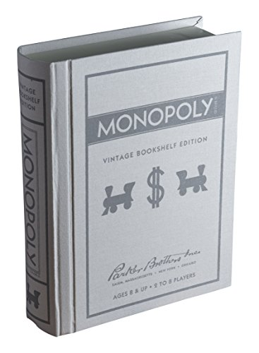 - Monopoly Vintage Bookshelf Edition