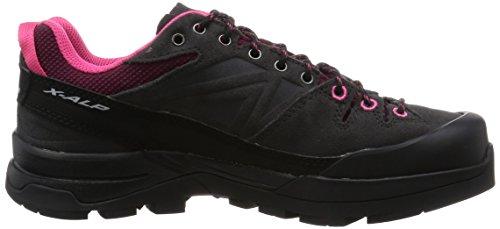 Pink Gris Pink Salomon Hot Bordeaux Asphalt Asphalt Bordeaux Femme Chaussures de Hot L37927000 Randonnée wwBfXzq