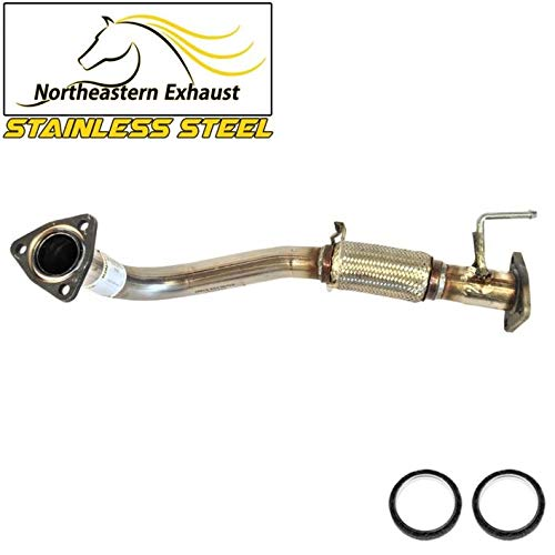 StainlessSteel Front Flex Exhaust Pipe fits: 1998-2002 Honda Accord 2.3L
