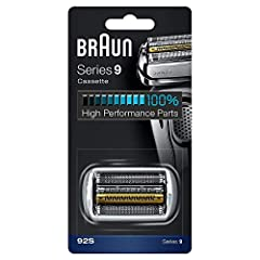 Braun replacement heads help you get back 100% of your shaver's performance. Braun recommends changing your shaver's blades every 18 months as the cutting parts will gradually wear out over time and your shave may become less close and comfor...