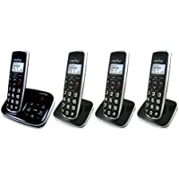 Clarity BT914 Severe Hearing Loss Cordless Phone with 3 BT914HS Expandable Handsets