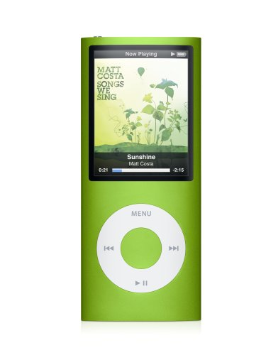 Apple iPod nano 8 GB Green (4th Generation)  (Discontinued by Manufacturer)