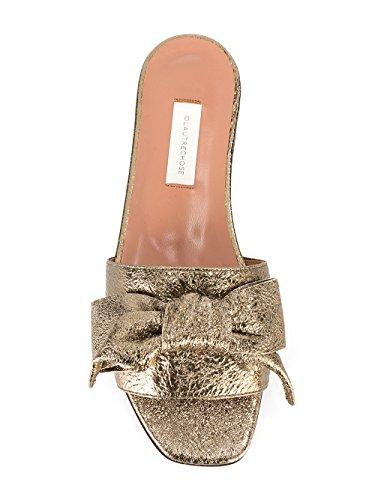 LAutre Chose Damen LDG07905CC25332005 Gold Leder Sandalen