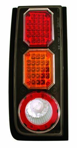 IPCW LEDT-343BA Bermuda Red/Amber LED Tail Lamp - Pair