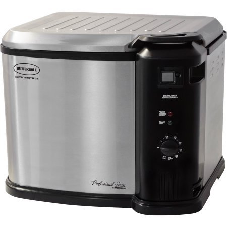 Butterball XL Stainless Steel Indoor Electric Turkey Fryer W